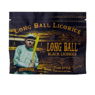 Babe Ruth's Long Ball Black Licorice Mini Bites