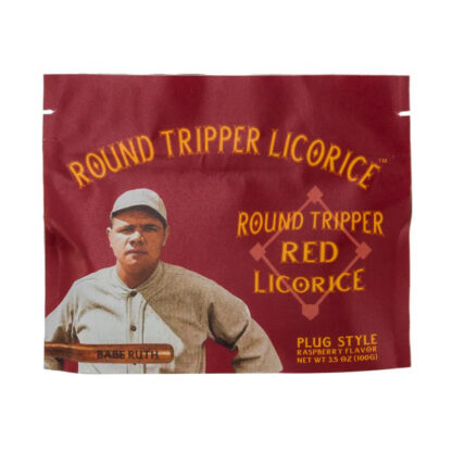 Babe Ruth's Round Tripper Red Licorice Mini Bites 3.5oz